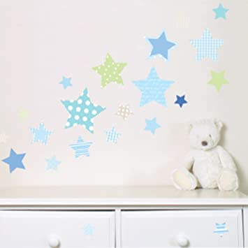 Suncrest Fun To See Wish Upon A Star - Pegatinas de pared para guardería y dormitorio (42 unidades): Amazon.es: Bebé