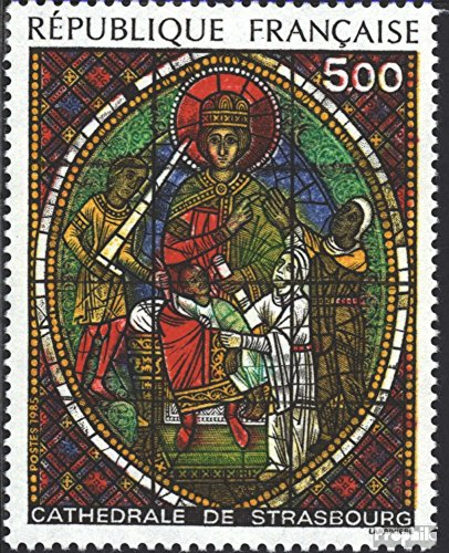 France 2494 (Complete.Issue.) 1985 Munster Strasbourg (Stamps for Collectors) Religion