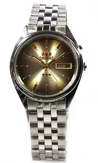 Reloj Orient 3 Star – Reloj automático Día Fecha Reloj de hombre elegante fem0401tu9