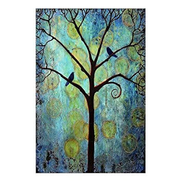 Amazon.com: Custom Beautiful Modern Art Abstract Painting Colorful ...