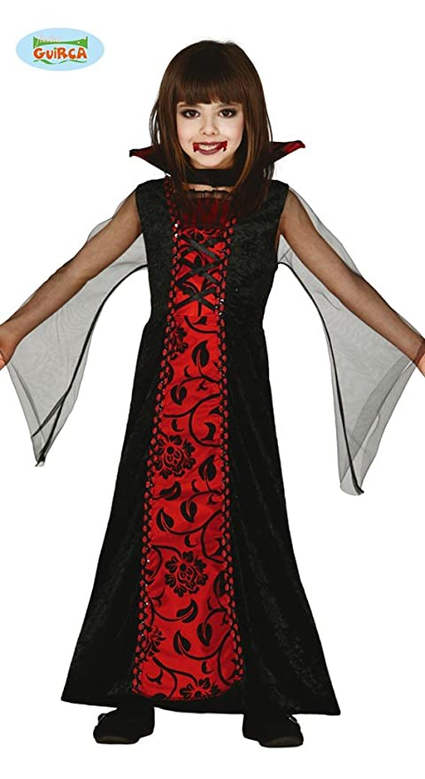 Costume Vampira 10 12 anni - Halloween  Amazon.it  Giochi e giocattoli cdd526d6fe3f