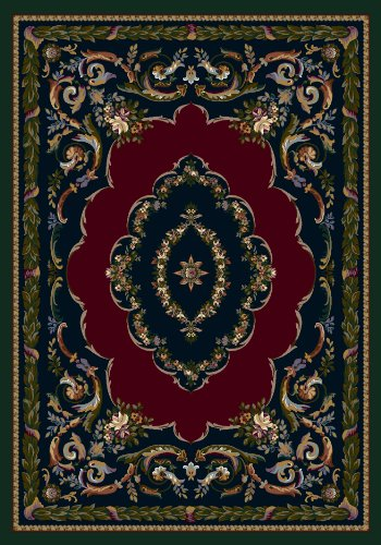Milliken 4000039942 Innovations Collection Lafayette Rectangle Area Rug, 7'8