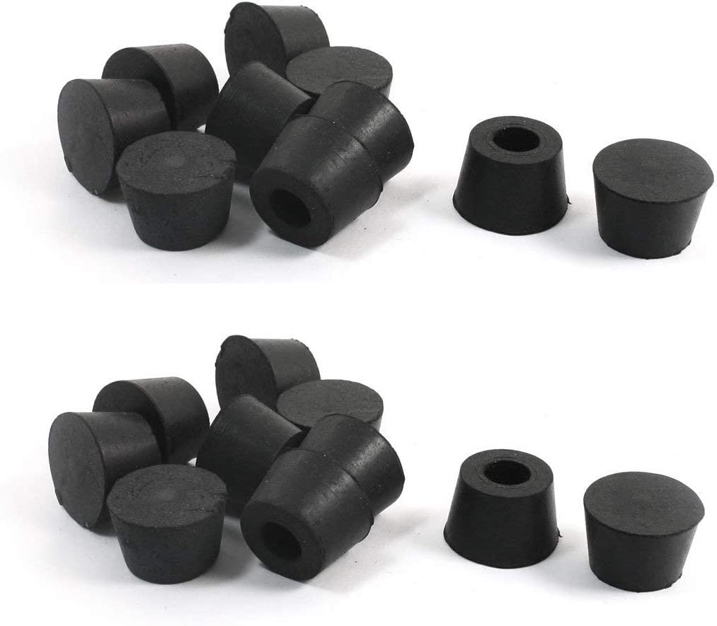 "LDEXIN 6pcs 6mm / 6.6"" ID Anti Vibration Furniture Foot Caps"