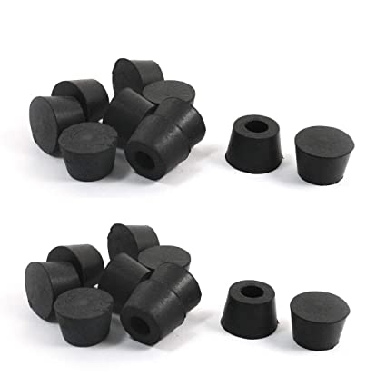 Furniture Parts Furniture Table Chair Leg Tips Foot Caps Floor Protector 20 Pcs Black Furniture