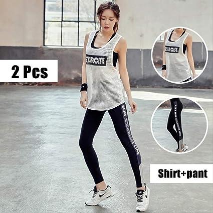 FECPD 3 Pcs Workout Clothes for Women Yoga Set Top Bra ...