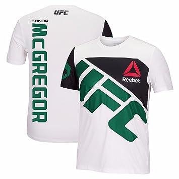 1b1e7534d145c Reebok Conor McGregor UFC Fight Kit Official (White/Green) Walkout Jersey  Men's