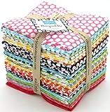 Riley Blake BASICS HONEYCOMB DOT 26 Fat Quarters Quilt Fabric FQ-680-26