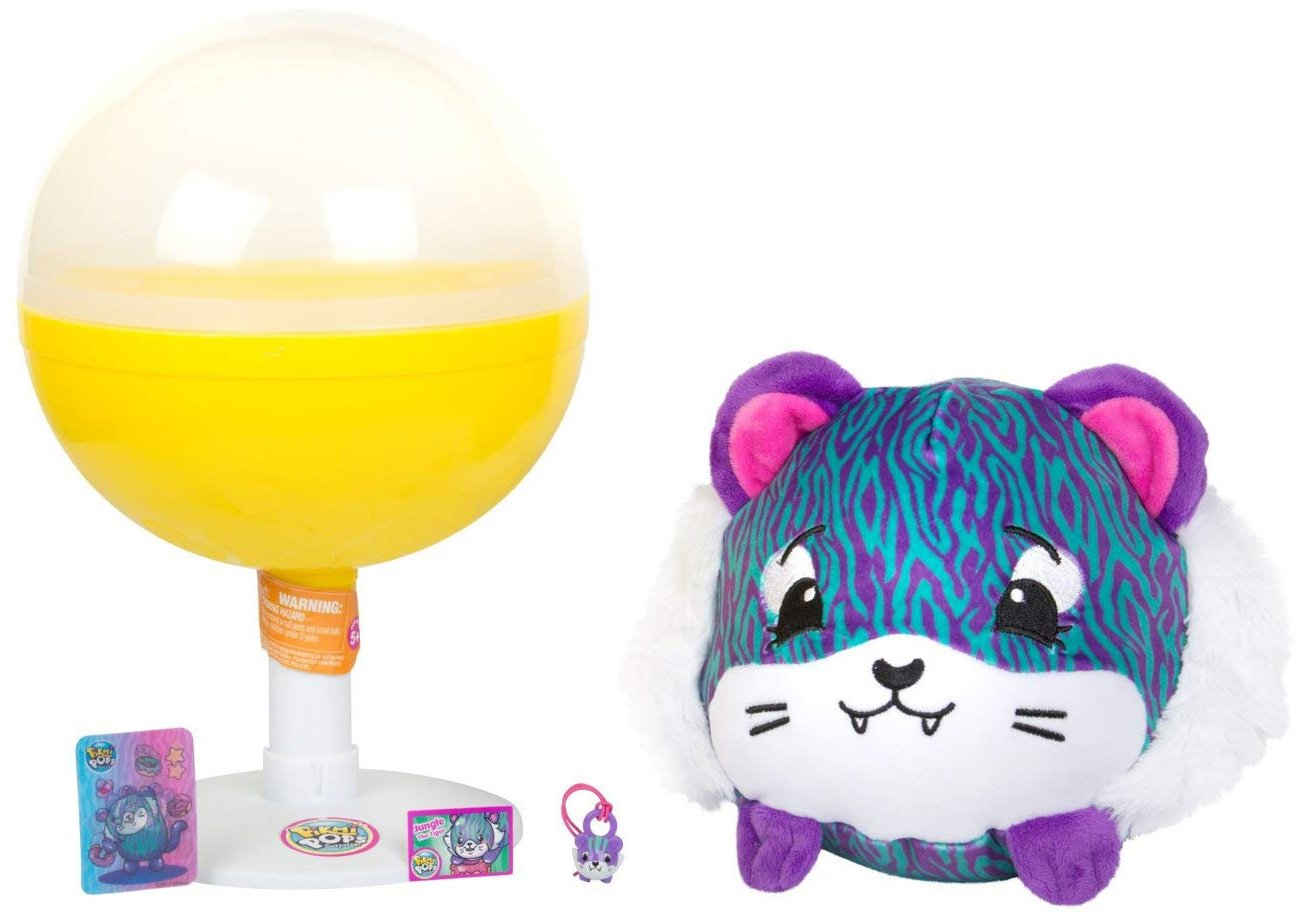 Pikmi Pops Surprise Jumbo Plush Tiger and Pikmi Style Size Plush Set Series 3 SG/_B07F65NRCP/_US