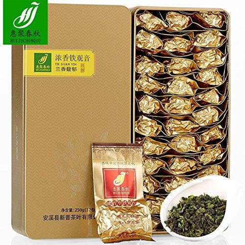 SHI 2017 autumn tea tea Anxi Tieguanyin Tea Luzhou 500g Oolong Tea Hui mountain orchid incense poly spring tea