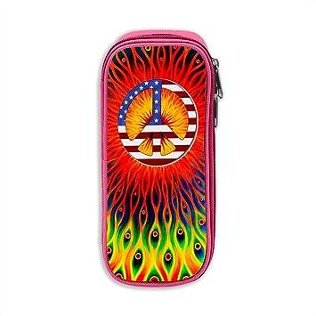 Trippy Hippie - Estuche para lápices o bolígrafos, diseño de ...