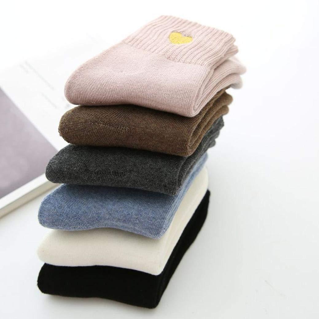 Foruu - Calcetines de algodón para mujer, diseño de ...