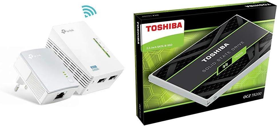 TP-Link TL-WPA4220 Kit - 2 Adaptadores de Comunicación por Línea ...