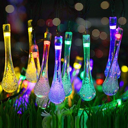 Vmanoo Christmas Decorative Solar Powered Lights 30led 19