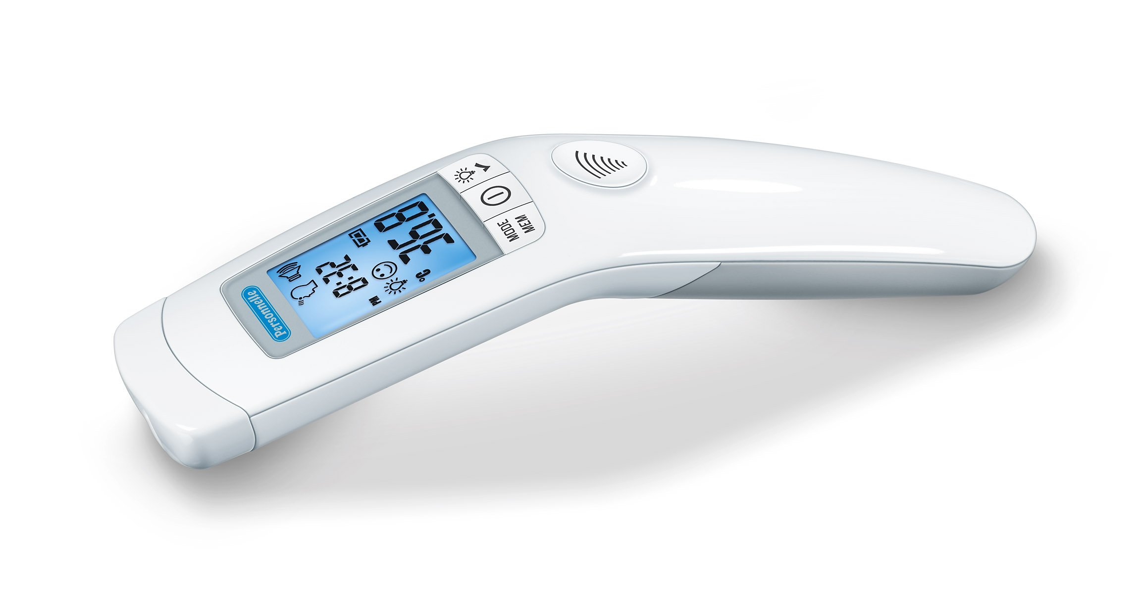 Personnelle High Accuracy Forehead and Object Thermometer, Simply Point and Click to Receive a Reading, Safe and Hygienic, For Infants, Children and Adults, FT90P
