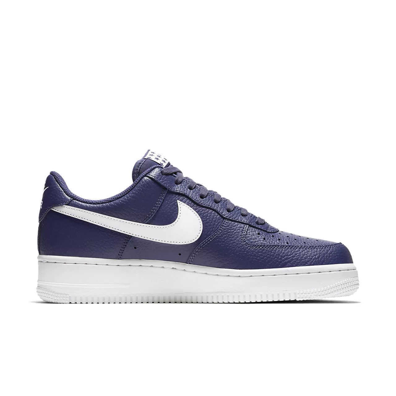 the latest 93259 5dc7d Galleon - NIKE Mens Air Force 1 Low 07 Stars Basketball Shoes Blue Recall White  AA4083-401 Size 12.5