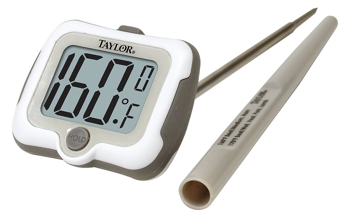 Taylor 9836 Pro Series Digital Deep Fry / Candy Digital Thermometer with Adjustable Head: Amazon.com: Industrial & Scientific