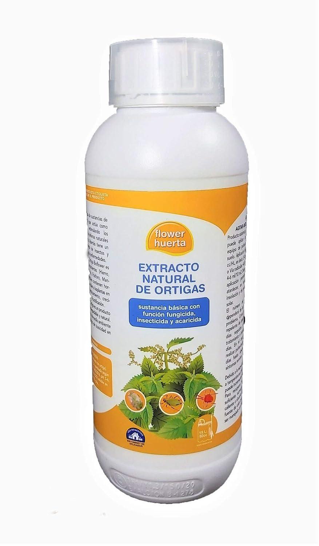 Extracto de ortiga ecológico. 1 litro - Fungicida, insecticida y acaricida. Tratamiento válido para 900 litros de agua