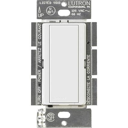 Lutron MA-AS-WH Maestro Multi-Location Companion Switch, White on