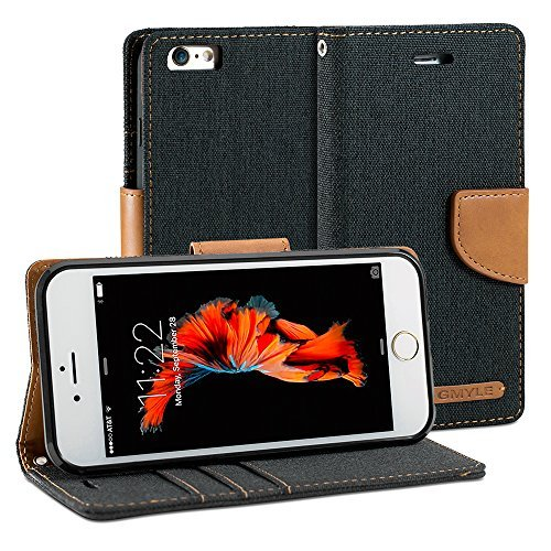 iPhone Wallet GMYLE Fabric Classic