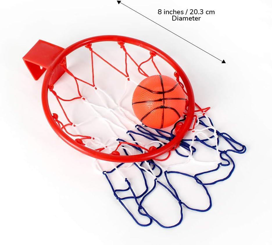 Amazon.com: Katzco, Canasta de baloncesto para usar sobre la ...