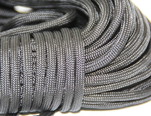 100-ft-Utility-Rope-Paracord-Nylon-Twine-for-All-Purpose-Handcraft-Multi-function-Tent-guyline-Camping-Hiking-Light-Weight-Survival-Gear-Polypropylene-Poly-Cord-Outdoor-Emergency-Ropes-BlueGrayBlack