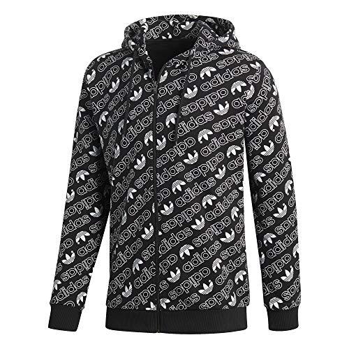 Noir Sweat Fz Adidas Black Capuche Sport shirt À black Homme Monogram De wRHHqSz