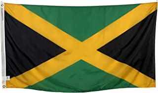 product image for 12x18 Jamaica Boat Flag - All Weather Nylon with Header & Grommets - Made in USA