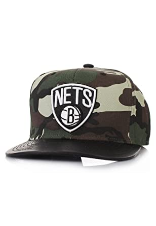 Mitchell & Ness Woodland Camo gorra - Brooklyn Nets - Camuflaje ...