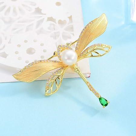 LILIHAN Broches de Perlas Vestido de Animal Collar Broche ...