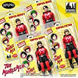 The Monkees; 8 inch action figures Series 1; MONKEE MEN SUITS set of 4 figures