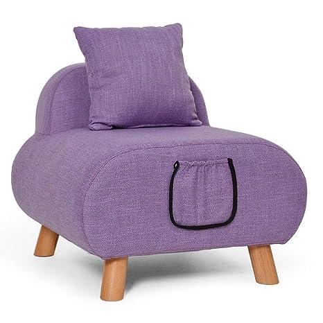 Amazon.com: Puf otomano recámara Mini sofá lounge silla ...