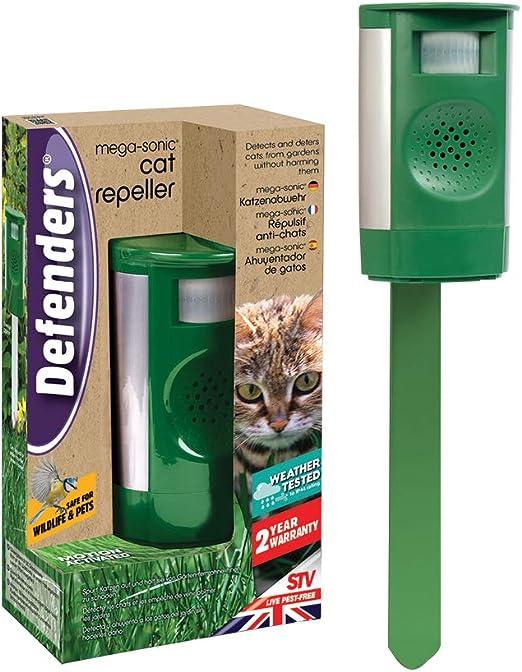 Dicoal - Repelente Gatos Mega-Sonico Pilas 120m2: Amazon.es: Jardín