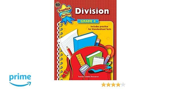 Amazon.com: Division Grade 4 (Practice Makes Perfect (Teacher ...