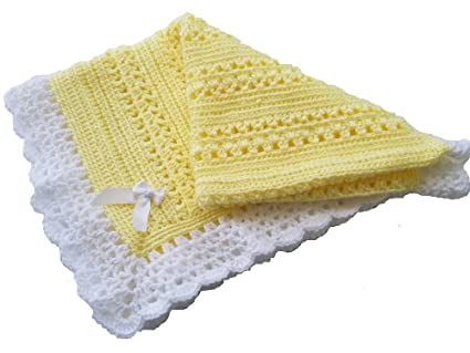 Amazoncom Cro Kits Baby Blanket Crochet Kit Complete With Yarn