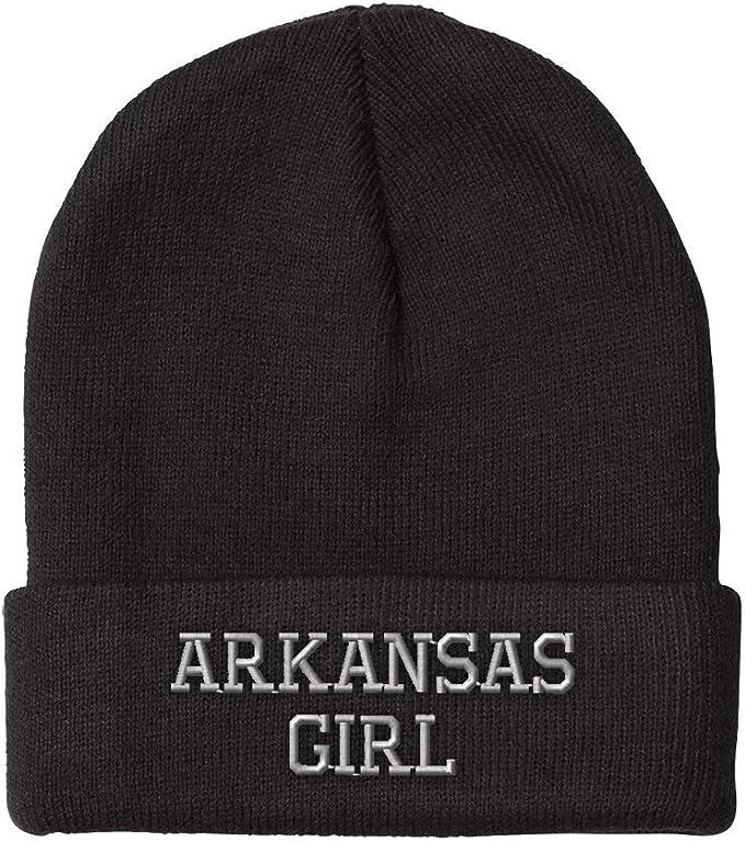 Tenacitee Girls Living in Texas with Arkansas Roots Hooded Sweatshirt