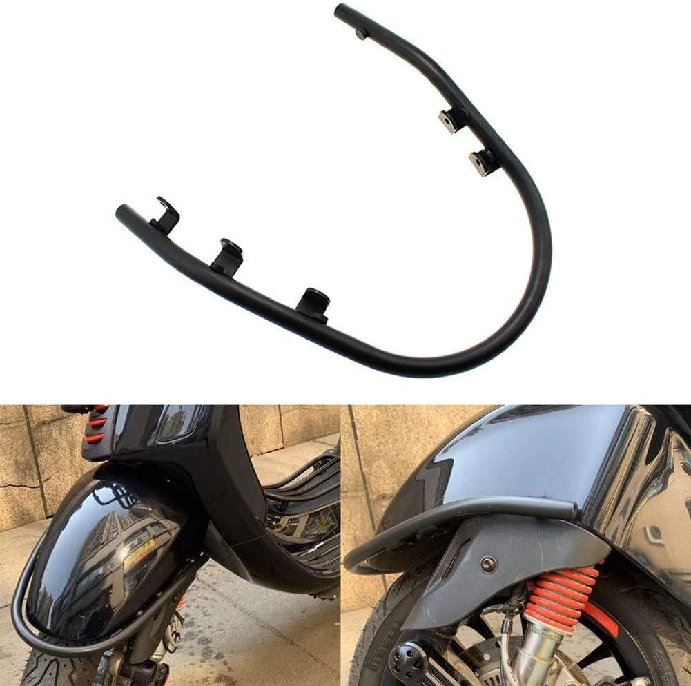 XIWEIG Motorrad Auto Kotfl/ügel Fender Black Auto Fender U-Bar Sturzb/ügel//Fit for Vespa//GTS 300 Sprint Primavera 150 GTS 300 HPE