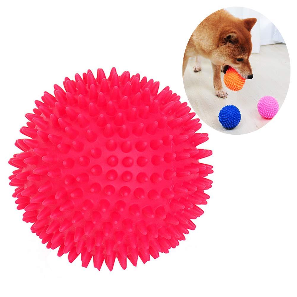 Vi.yo - Pelota de Goma con Pinchos para Perro, Bola de Goma TPR ...