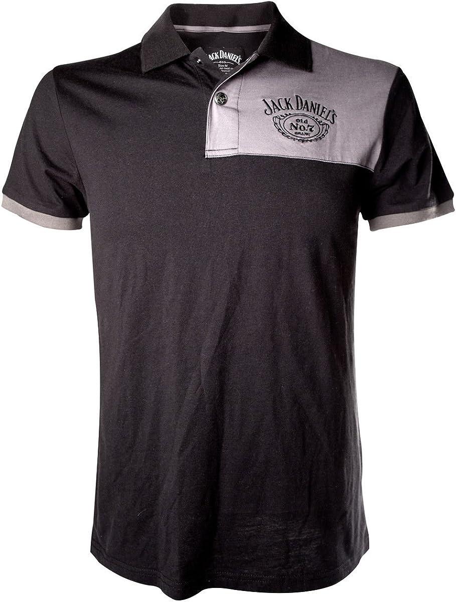 Jack Daniels t-Shirt Street Mens Patch with Logo PO255618JDS