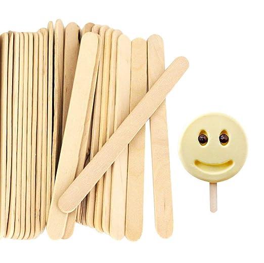 Tonver - Palitos de madera para helado, 200 unidades, para ...