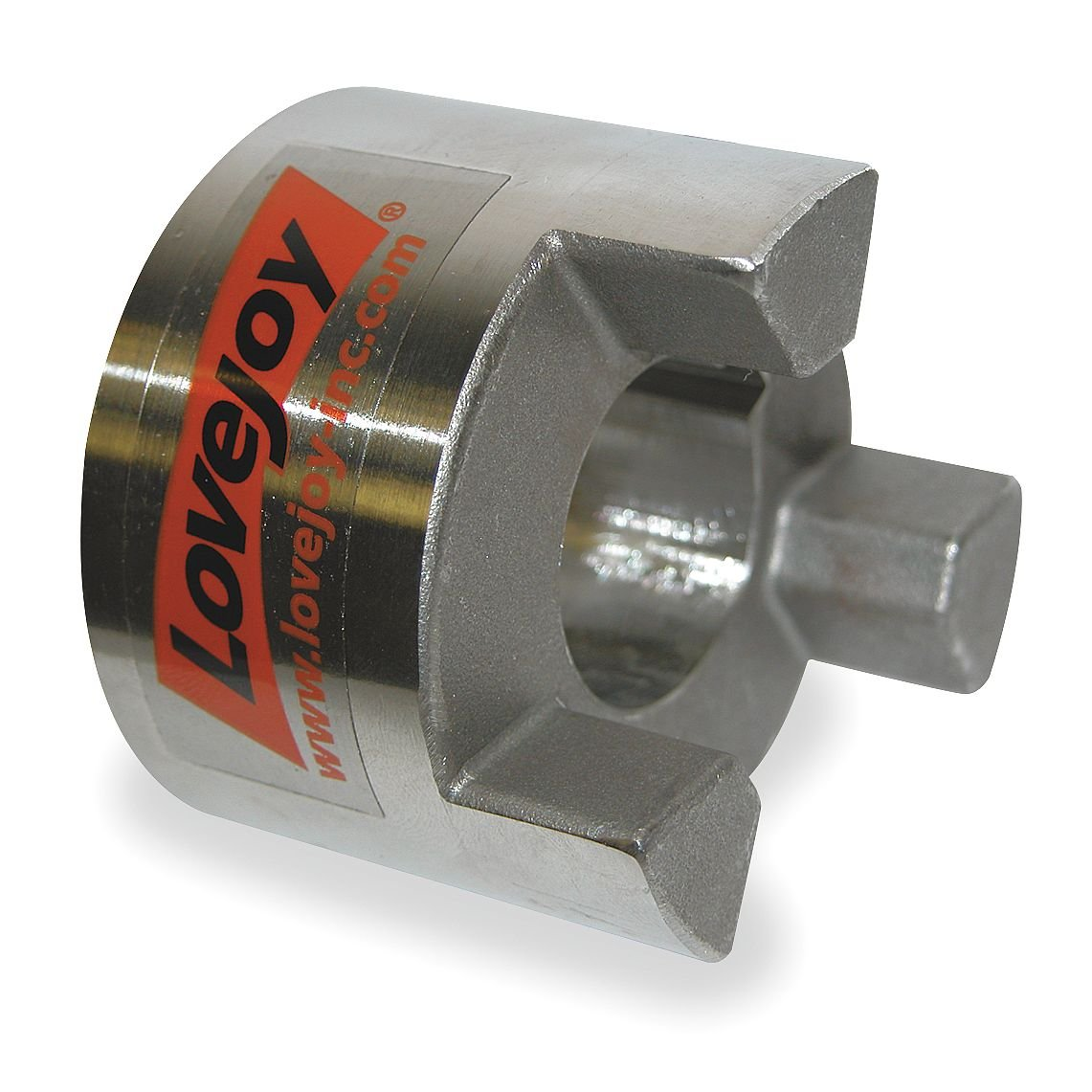 1 Bore Lovejoy 68514470019 Stainless Steel Size SS100 Jaw Coupling Hub 0.25 x 0.125 Keyway 1 Bore 2.54 OD 1.38 Length Through Bore 0.25 x 0.125 Keyway 2.54 OD 1.38 Length Through Bore