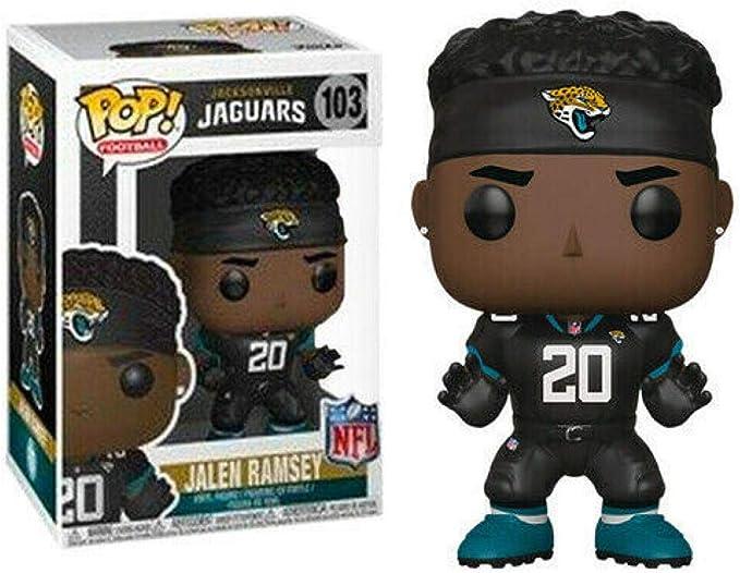 NFL Jacksonville Jaguars figura De Vinilo fútbol Leonard fournette #104 Funko Pop