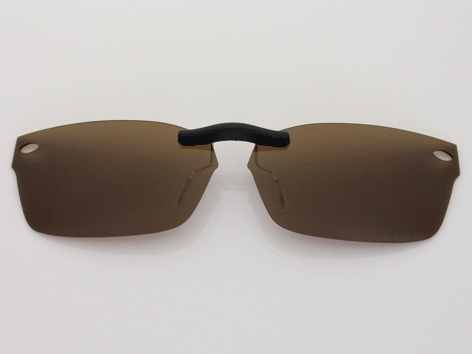 Custom Fit Polarized CLIP-ON Sunglasses For Ray-Ban RB5150 48X19 Brown by COODY (Image #2)