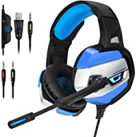 ONIKUMA Over-Ear 3.5mm Wired Gaming Headphones