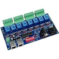 8CH DMX Relay Switch Dmx512 Controller Relay Output