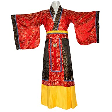 a97b1d035 Amazon.com: Emperor Costumes of The Han Dynasty Chinese Robes Tang Suits Qin  Shimin Emperor Costumes Adult Children's Suits (Red): Clothing