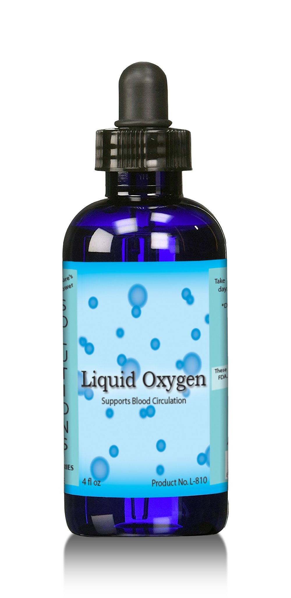 Liquid oxygen drops Stabilized liquid oxygen drops by Performance Supplement stores