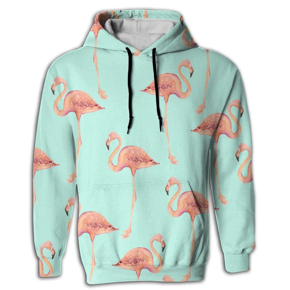 CraneUnisex 3D Printed Sweatshirt Casual Pullover Hoodie With Big Pockets