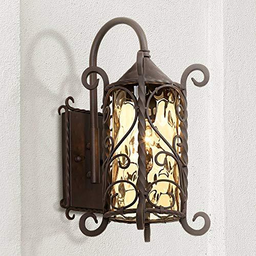 Rustic Iron Outdoor Lighting