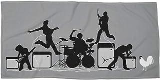 NDJHEH Serviettes Plage Draps de Bain Rock Out with Your Cock Out Beach/Bath Towel - 31'X 51'