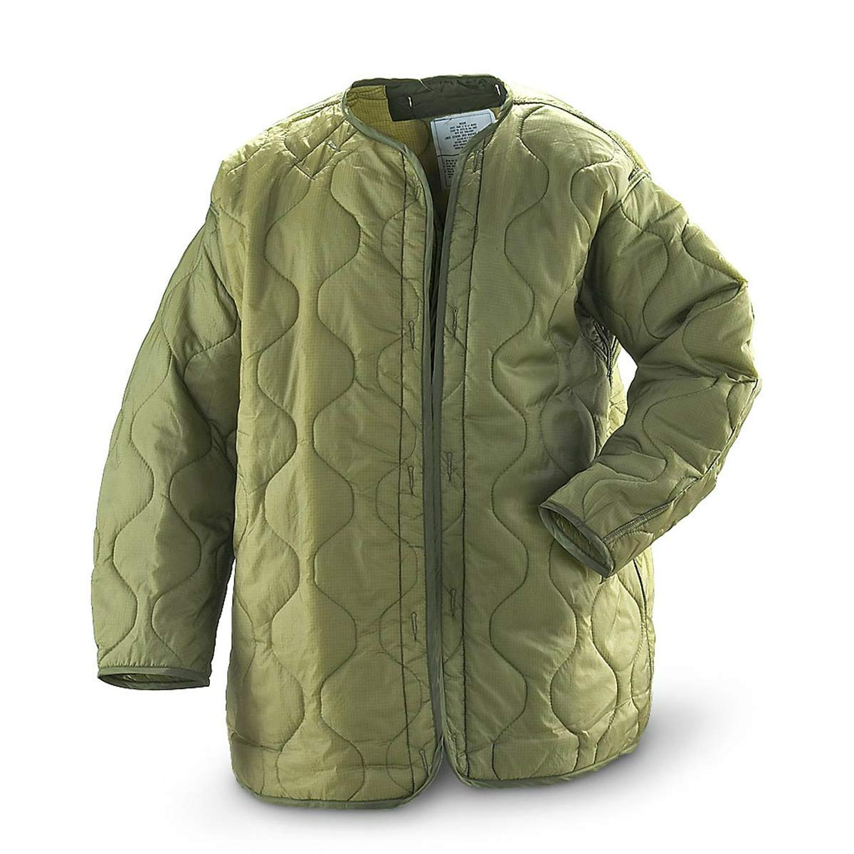 Amazon.com  New US Army Military M65 Unicor Field Jacket Quilted Foliage  Green Coat Liner M-65 L Large  Clothing 58472fe7029